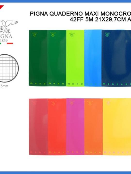 Quaderno Monocromo A4 5M