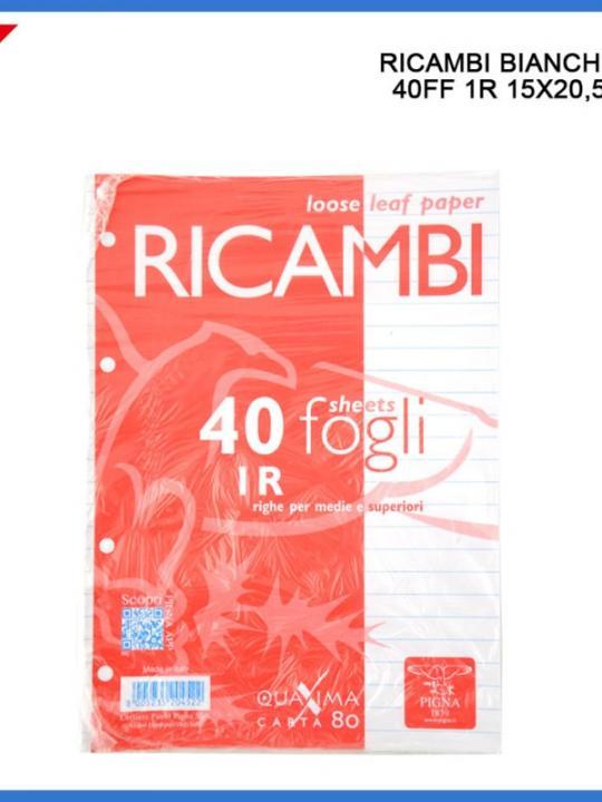 40 Ricambi A5 Bianchi 1R
