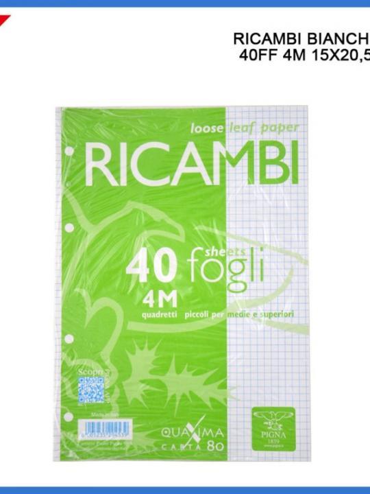 40 Ricambi A5 Bianchi 4M