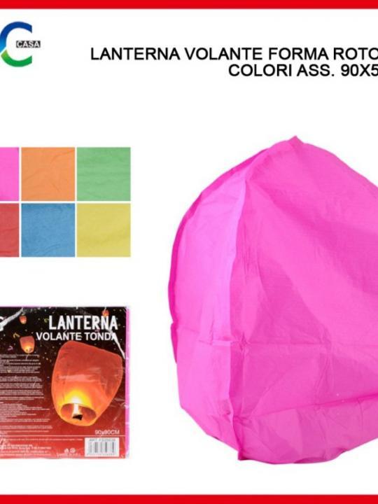 Lanterna Volante Tonda 90X50Cm Ass.