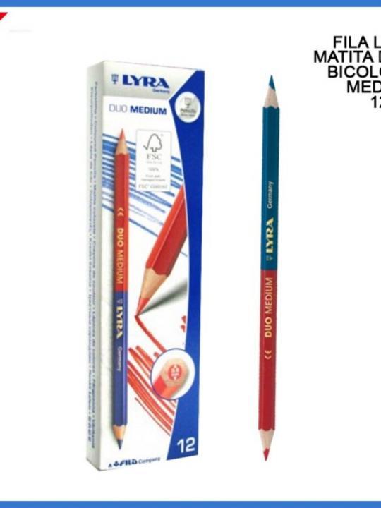 Lyra Matita Bicolore Duo Medium Mina 3.8