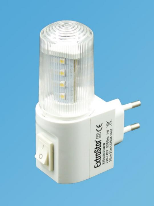 Lampada Notturna Decorativa 1W 30Lm Luce