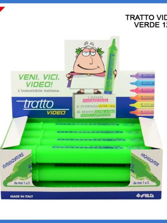 Tratto Video Verde
