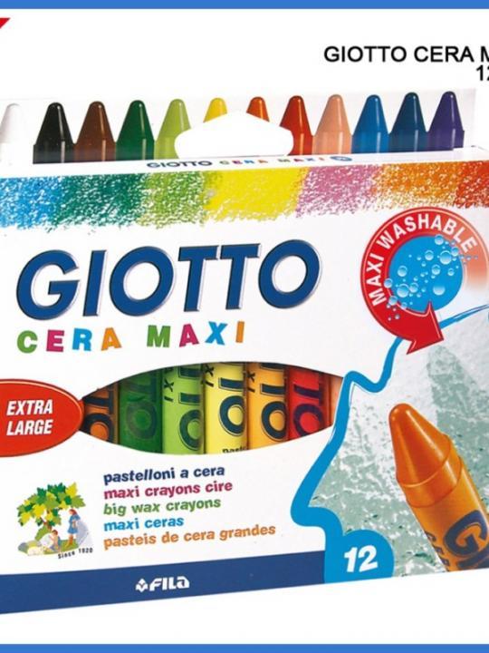 Giotto Pastelli Cera Maxi 12Pz